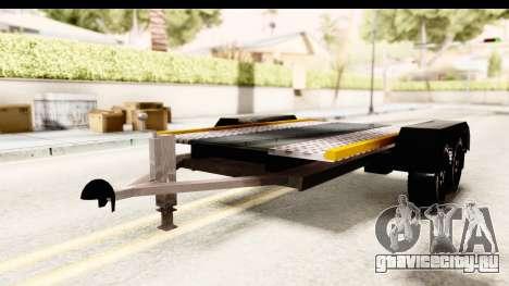 Dacia Duster Pickup Trailer для GTA San Andreas вид справа