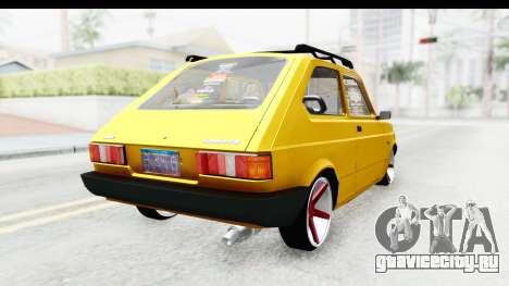 Fiat Spazio Tr Street для GTA San Andreas вид слева