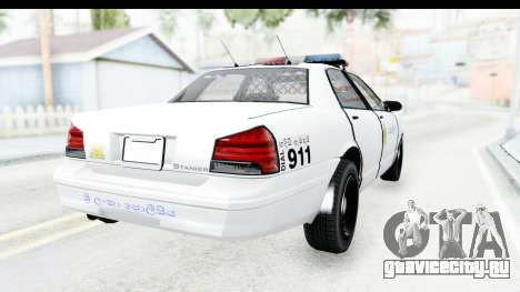 Sri Lanka Police Car v3 для GTA San Andreas вид справа