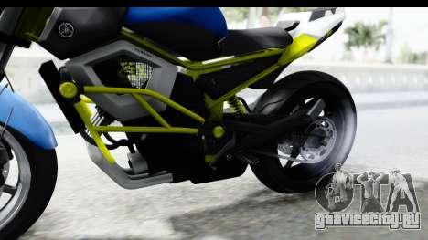 Yamaha Cage Sic для GTA San Andreas вид сзади