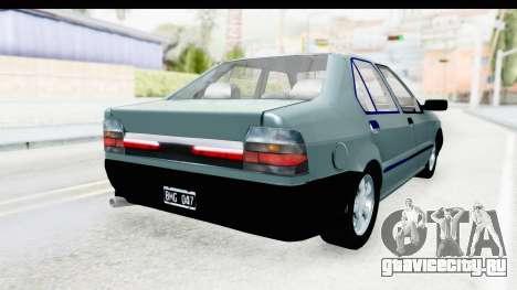 Renault 19 RE для GTA San Andreas вид сзади слева