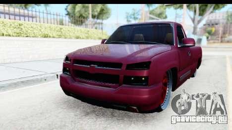Chevrolet Silverado 2005 Low для GTA San Andreas