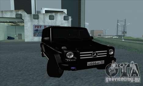 Mercedes-Benz G55 для GTA San Andreas вид слева