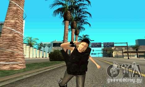 Женщина-тренер SWAT для GTA San Andreas восьмой скриншот