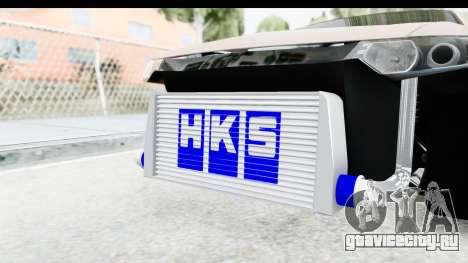 Honda Accord 2010 JDM для GTA San Andreas вид изнутри