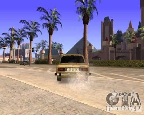VAZ 2106 Armenian для GTA San Andreas вид снизу