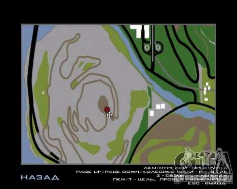 Armenian Flag On Mount Chiliad V-2.0 для GTA San Andreas восьмой скриншот