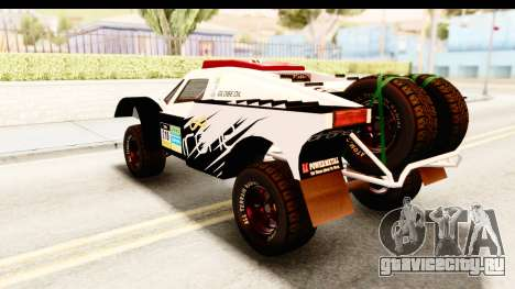 GTA 5 Desert Raid SA Lights PJ для GTA San Andreas вид сверху