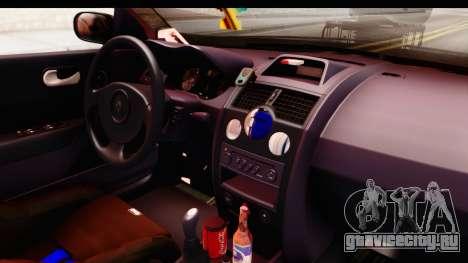 Renault Megane Spyder Full Tuning v2 для GTA San Andreas вид сбоку