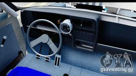 Fiat 147 для GTA San Andreas вид сбоку