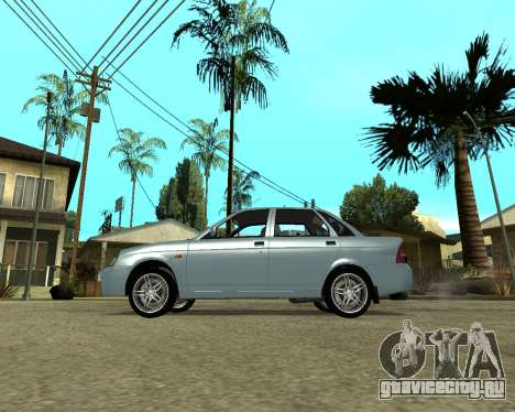 Лада Приора Армения для GTA San Andreas вид слева