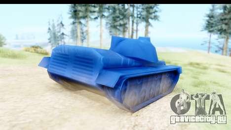 Tank M60 from Army Men: Serges Heroes 2 DC для GTA San Andreas вид слева