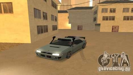 Super Sultan для GTA San Andreas вид справа