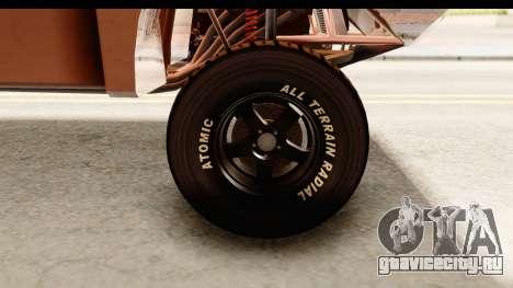 GTA 5 Desert Raid SA Lights PJ для GTA San Andreas вид сзади
