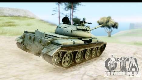T-62 Wood Camo v1 для GTA San Andreas вид справа