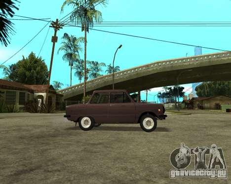 ЗАЗ 968М Армения для GTA San Andreas вид справа