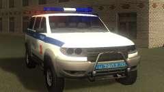 УАЗ Patriot Полиция v1 для GTA San Andreas