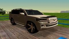Toyota Land Cruiser 200 для GTA San Andreas