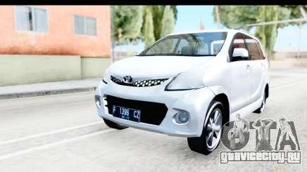 Toyota Avanza Veloz 2012 v1.1 для GTA San Andreas