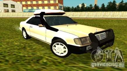 Mercedes Benz 320E для GTA San Andreas