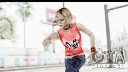 Silent Hill 3 - Heather Sporty Red Duff Beer для GTA San Andreas