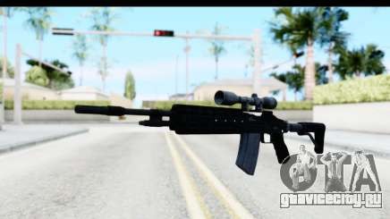 GTA 5 Vom Feuer Marksman Rifle для GTA San Andreas