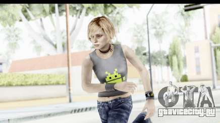 Silent Hill 3 - Heather Sporty Gray Pixel Droid для GTA San Andreas