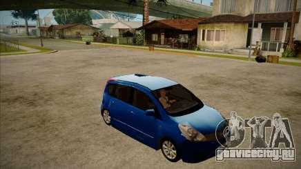 Nissan Note 2008 для GTA San Andreas