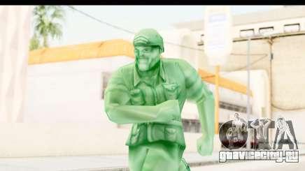 ArmyMen: Serge Heroes 2 - Man v2 для GTA San Andreas