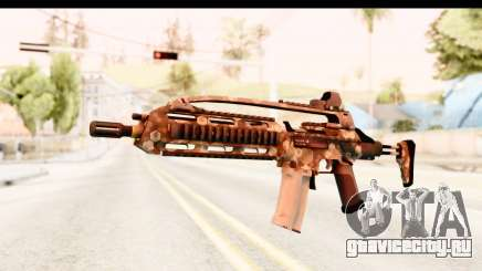 SCAR-LK Hex Camo Tan для GTA San Andreas