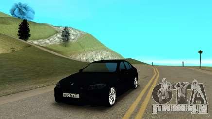 BMW M5 F10 чёрный для GTA San Andreas