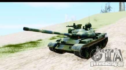 T-62 Wood Camo v3 для GTA San Andreas