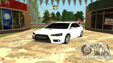 Mitsubishi Lancer X GVR для GTA San Andreas