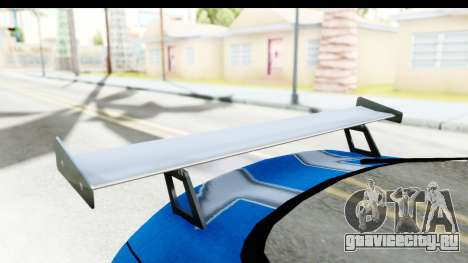 NFS: Carbon Darius Toyota Supra Updated для GTA San Andreas вид изнутри