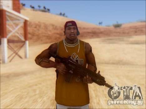 GTA 5 Vom Feuer Carbine Rifle для GTA San Andreas второй скриншот