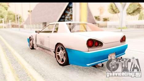 20egt Elegy для GTA San Andreas колёса