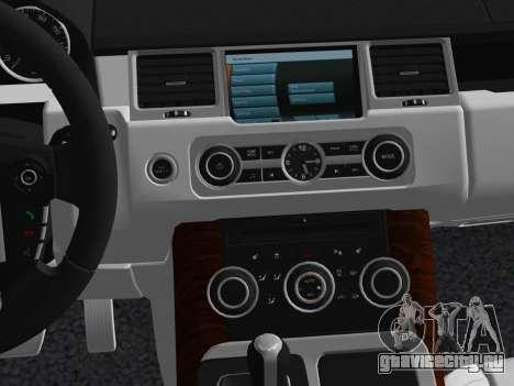 Range Rover Sport HSE (Rims 1) v2.0 для GTA Vice City вид сверху