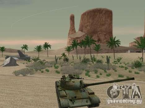 Т-62 для GTA San Andreas двигатель