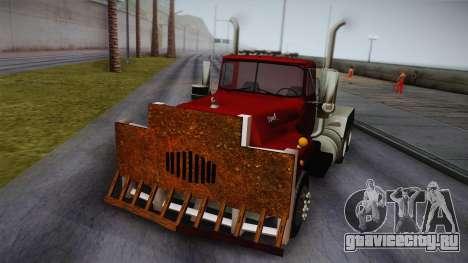Mack R600 v2 для GTA San Andreas вид сзади слева