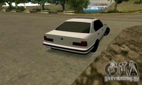 BMW 535i E34G для GTA San Andreas вид справа