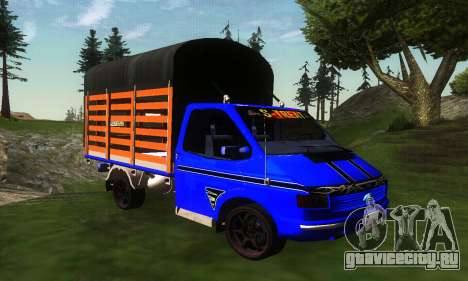 Ford Transit Stylo Colombia для GTA San Andreas