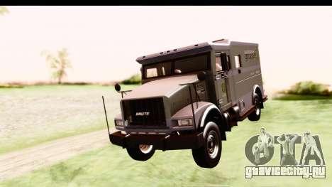 GTA 5 Stockade v2 IVF для GTA San Andreas вид сзади слева