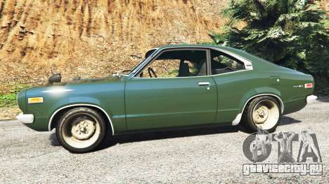 Mazda RX-3 1973 [add-on] для GTA 5 вид слева