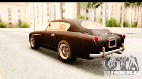 Aston Martin DB2 Mk II 39 1955 для GTA San Andreas вид справа