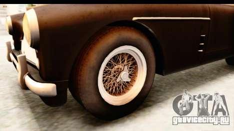 Aston Martin DB2 Mk II 39 1955 для GTA San Andreas вид сзади