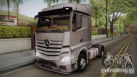 Mercedes-Benz Actros Mp4 4x2 v2.0 Steamspace v2 для GTA San Andreas