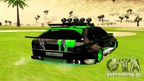 ВАЗ 2114 DTM TURBO SPORTS для GTA San Andreas вид сзади слева