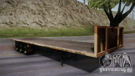 GTA 5 Army Flat Trailer IVF для GTA San Andreas