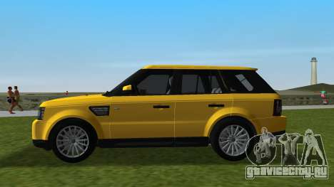 Range Rover Sport HSE (Rims 1) v2.0 для GTA Vice City вид слева