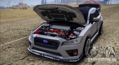 Subaru WRX STI LP400 2016 для GTA San Andreas вид справа